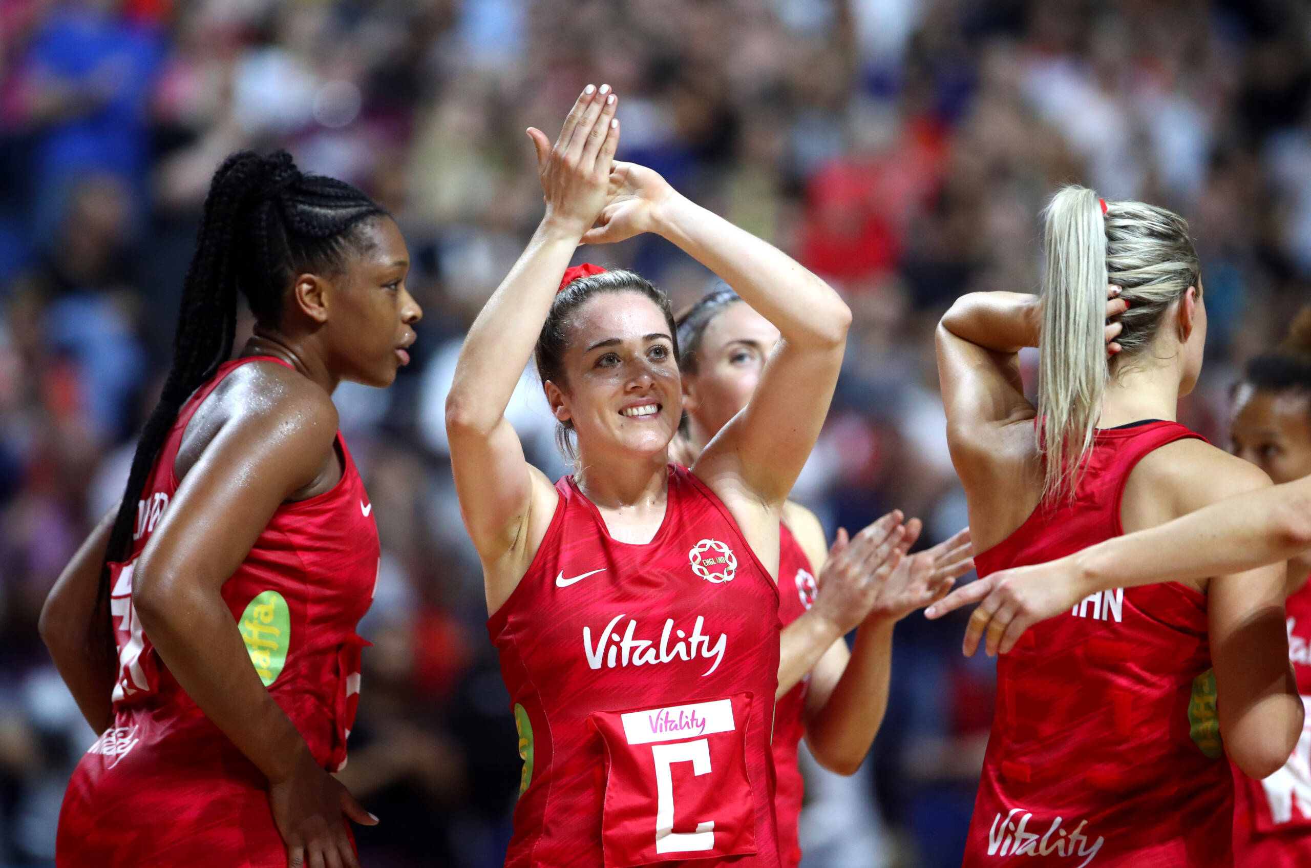 Nat Panagarry of the Vitality Roses and Loughborough Lightning.