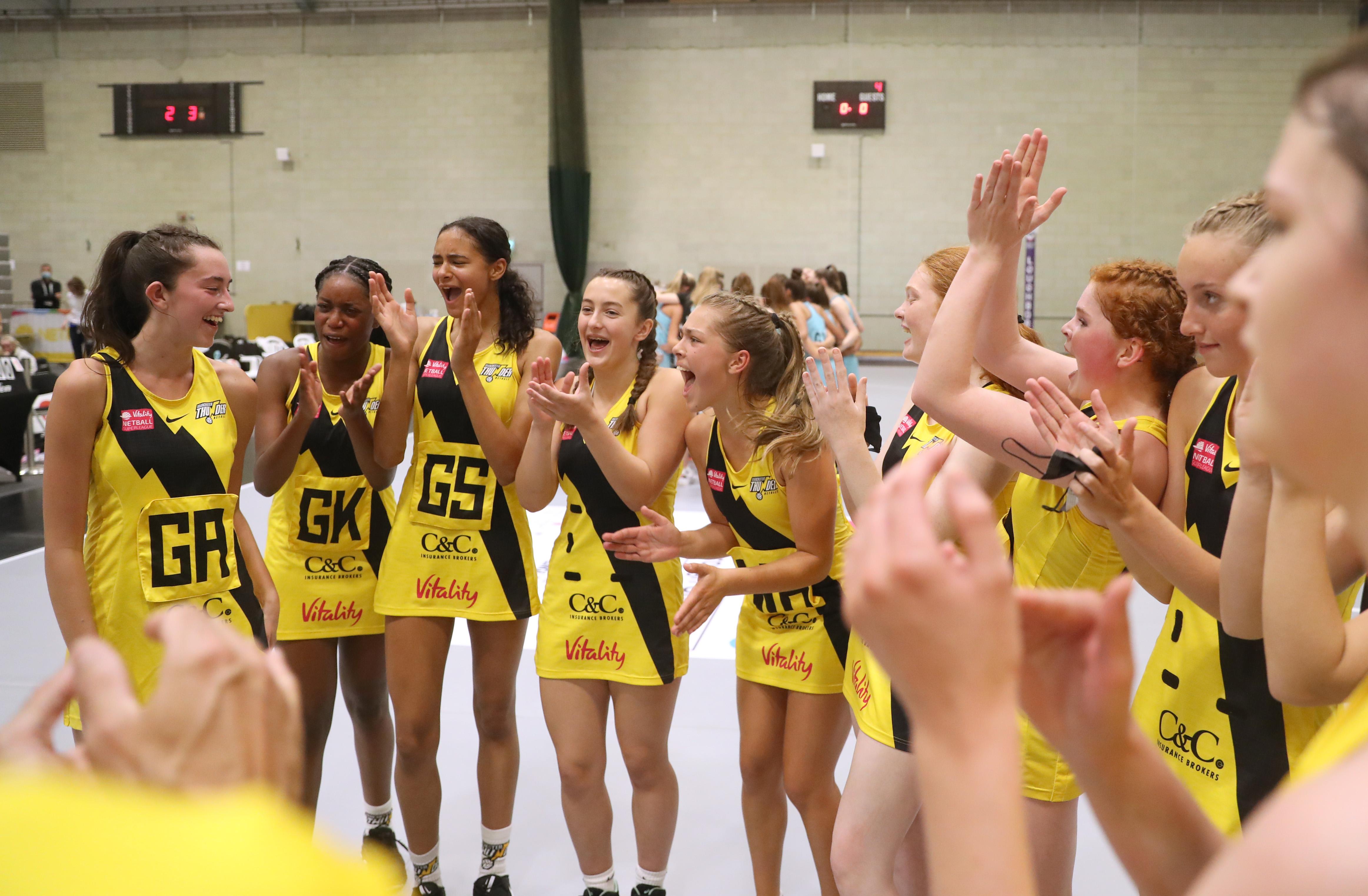 Manchester Thunder win thrilling 2021 School Games